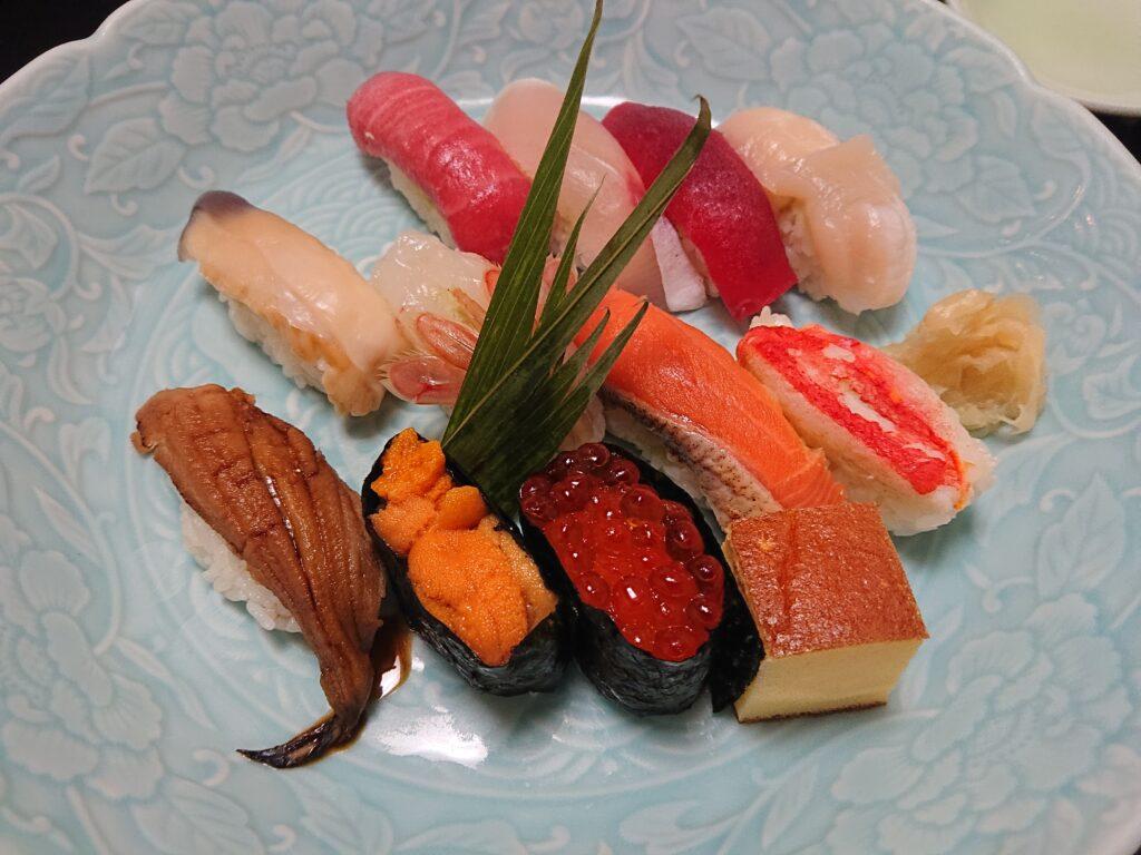 寿し心 なかむら 寿司セット3