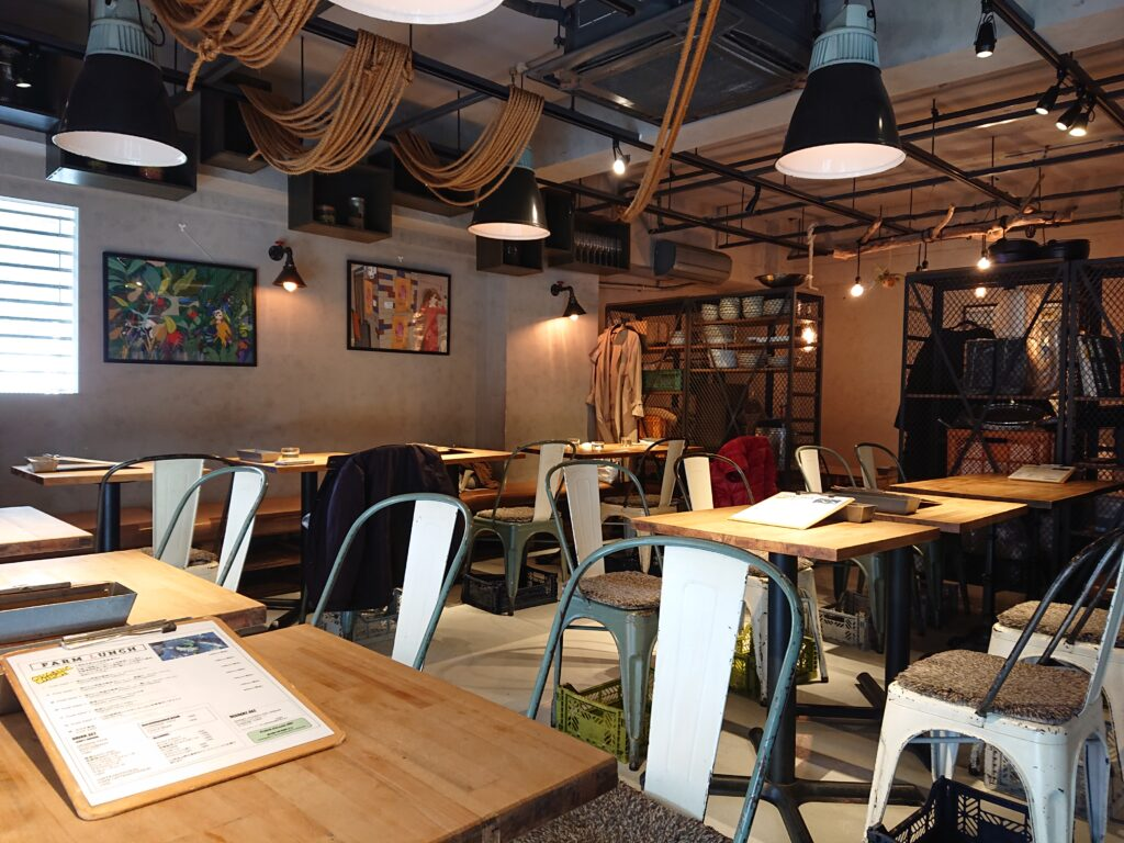 WE ARE THE FARM 渋谷 (【旧店名】STAND BY FARM 松濤) 店内