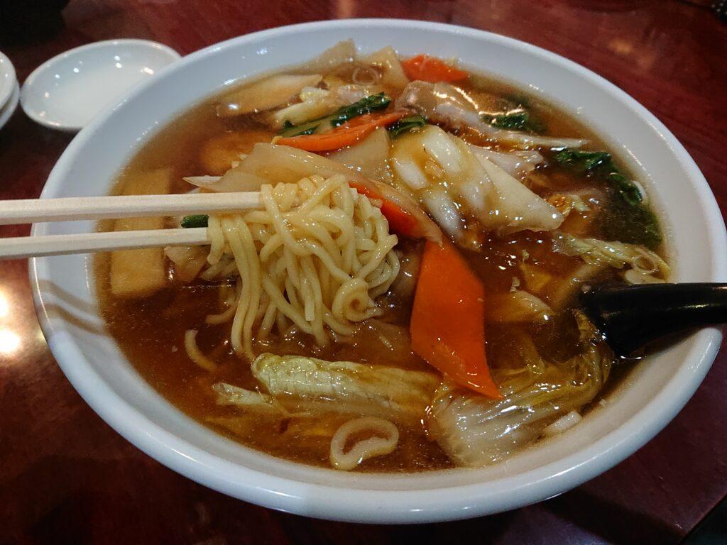 慶豊 (ケイホウ【旧店名】 谷記) 五目ラーメンの麺
