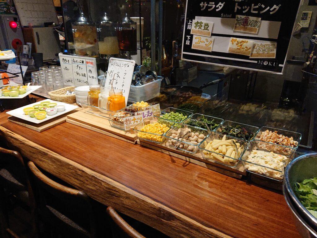 燻製 鉄板焼 クラフトビール MOKU 新橋店  ランチビュッフェ4