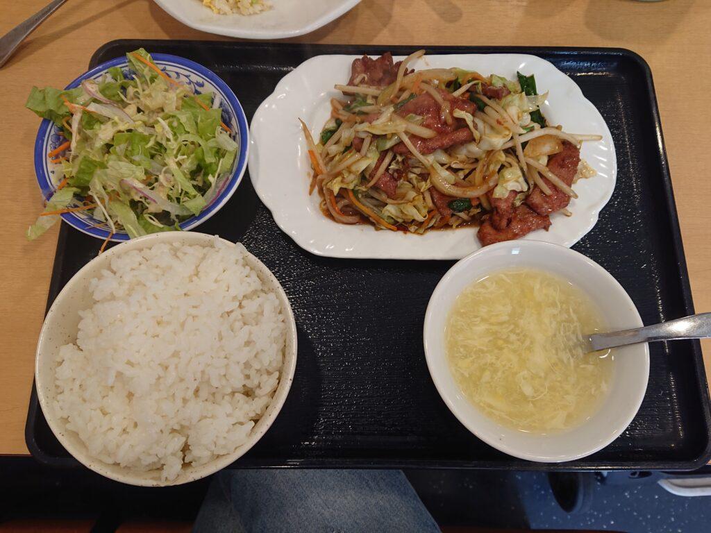 日替わり定食(火:野菜レバー炒め) 700円