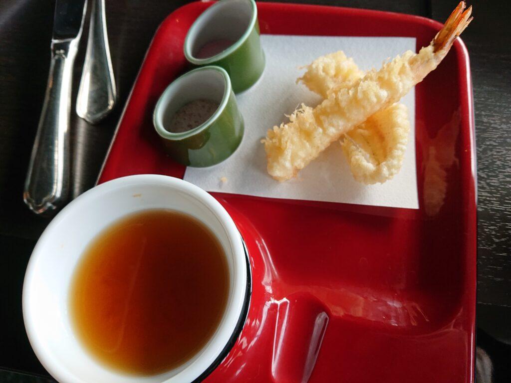 天ぷらお代わり