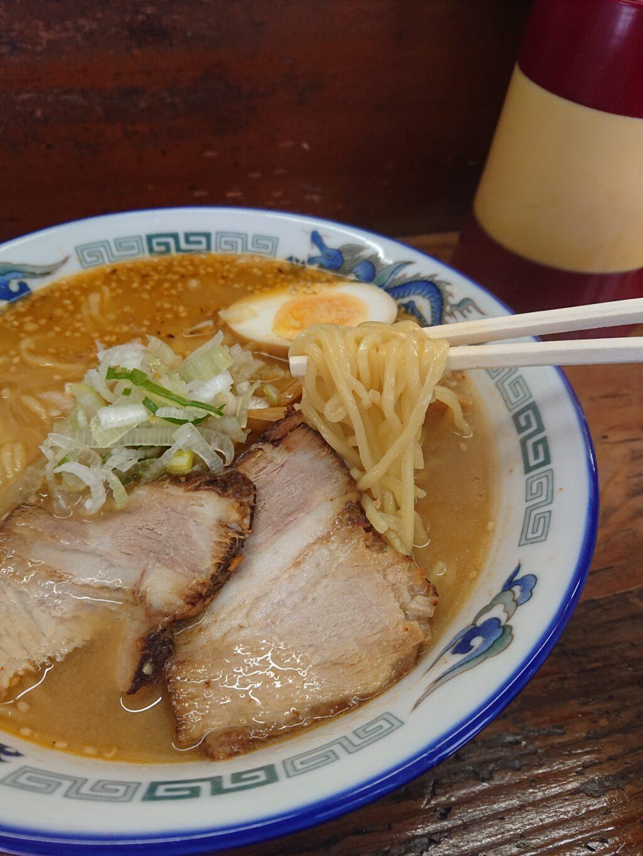 めん蔵@御成門 味噌ラーメンの麺
