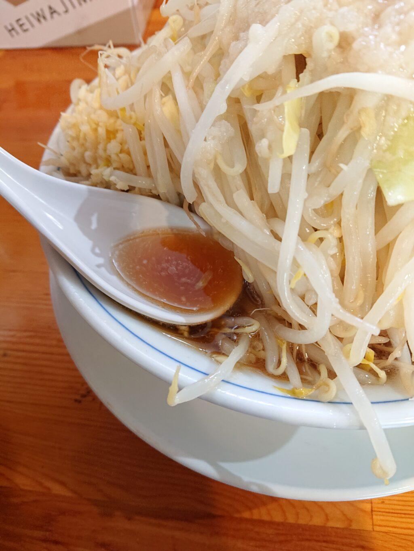 連(【旧店名】連家) ラーメンのスープ