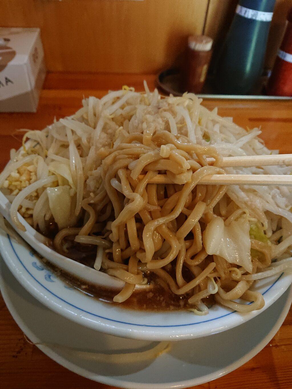 連(【旧店名】連家) ラーメンの麺