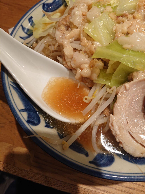 麺屋ぬかじ@渋谷 ぬかじ郎のスープ