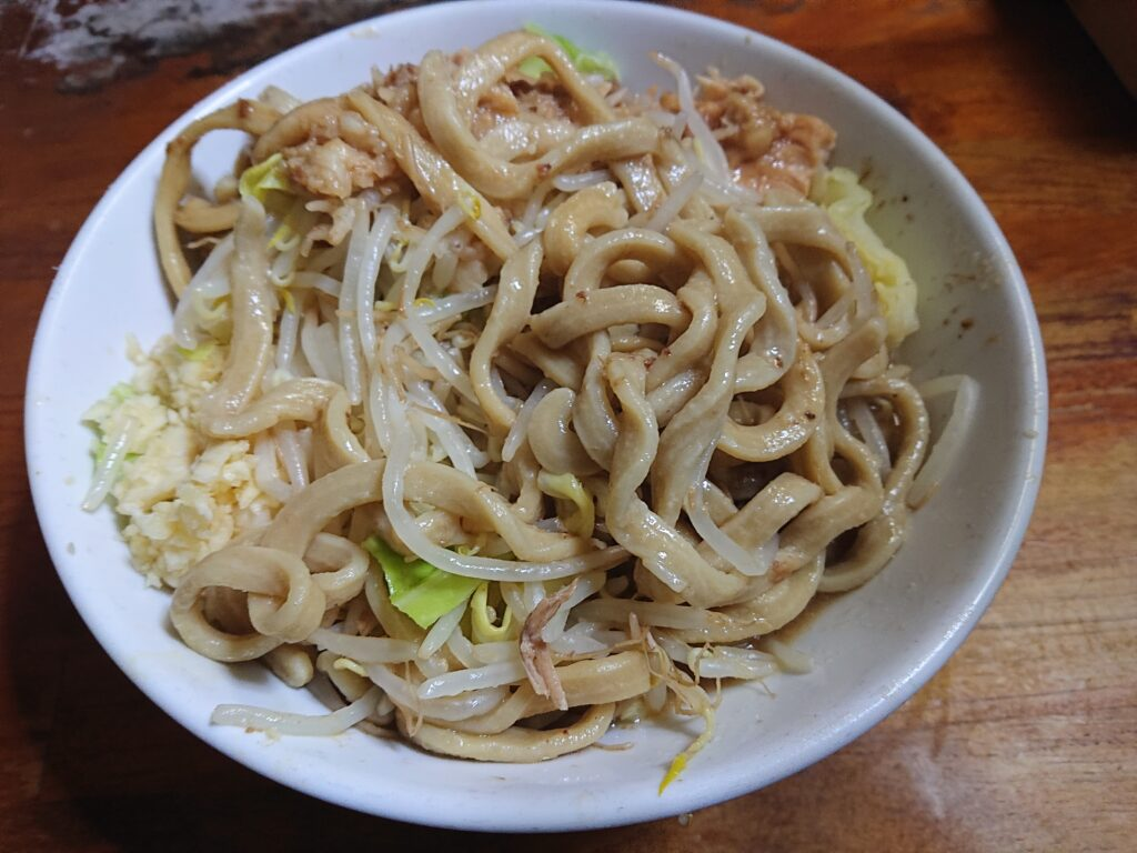 蓮爾 新町一丁目店 (ハスミ) 極太麺