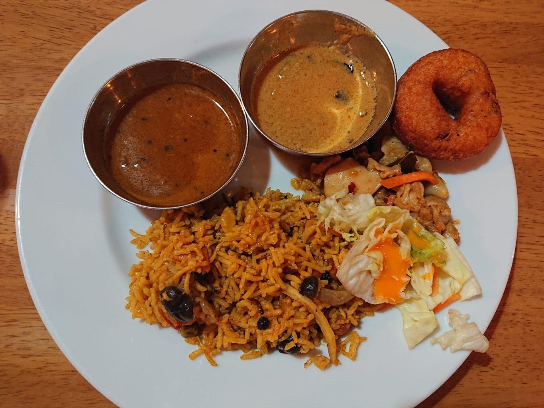ニルワナム 神谷町店 (Nirvanam) ビュッフェの料理