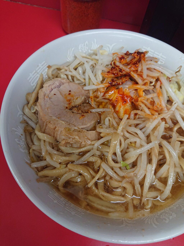 ラーメン二郎 千住大橋 非乳化のスープ